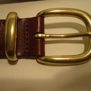 """Coach Woven Brown Belt 5922 40"""""""